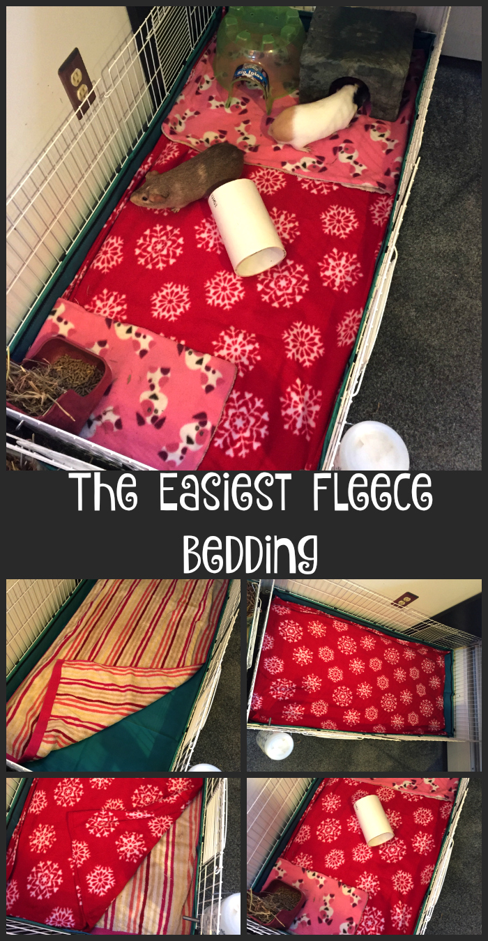 The Easiest Way To Do Fleece Bedding!